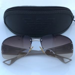 Emporio Armani Sunglasses Men Eye Wear Made Italy